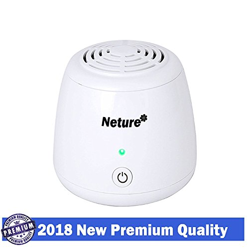 Neture USB Portable Ionic Air Purifier, Ozone Freshener Remove Cigarette Smoke, Odor Smell, Bacteria, Mini Air Cleaner for for Small Bedroom, Pets Room, Refrigerator, Car, Traveling