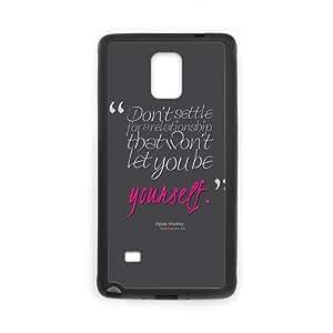 Unique And Diy Note4 Case Design Oprah Winfrey Quote About Relationsh Samsung Galaxy Note 4