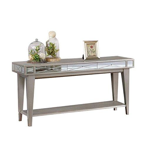 Coaster 720889-CO 1 Shelf Console Table, Mercury