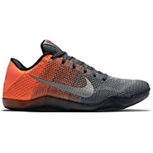 Kids' Nike Kobe 11 XI Big Kids GS Basketball Shoes Dark Grey 822945-078 (7Y)
