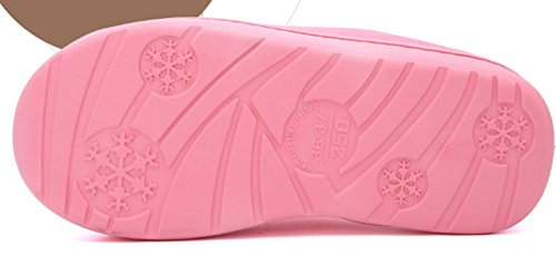 Cattior Dames Warme Dames Slippers Huis Indoor Zachte Pantoffels Roze