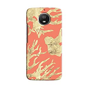Cover It Up - Red Nature Print Moto G5s Hard case
