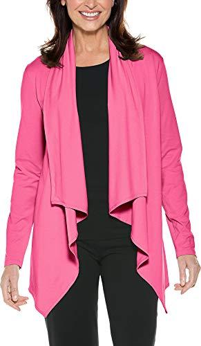 (Coolibar UPF 50+ Women's Sun Wrap - Sun Protective (XX-Large- Poppy Pink))