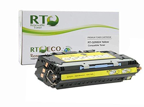 Renewable Toner 311A Compatible Toner Cartridge Replacement HP Q2682A for HP Color LaserJet 3700 Series (Yellow)