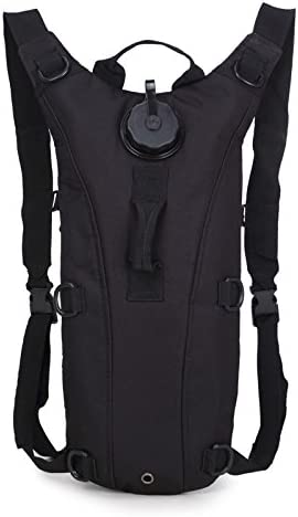 Hiking Pack Tactical Rucksack Cycling Hydration Backpack with 3L Water Bladder