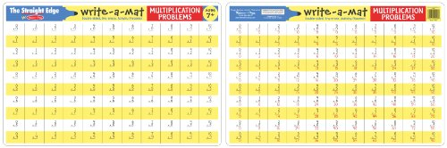 Melissa Doug Write a Mat Multiplication Problems