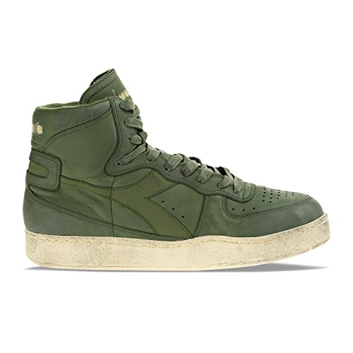 Used Mi Donna e Verde Basket Diadora Sneakers Uomo 70224 Cipresso per Heritage ITqH7