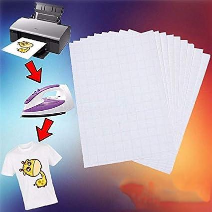 QIHONG - Papel de transferencia térmica para impresora de ...