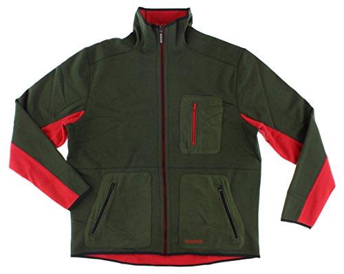 Adidas Reversible Jacket (adidas Mens Adventure Bonded Reversible Track Jacket Army Green M)