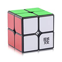D-FantiX Moyu Lingpo 2x2 Speed Cube Magic Cube 2x2x2 Puzzle Cube 50mm Black