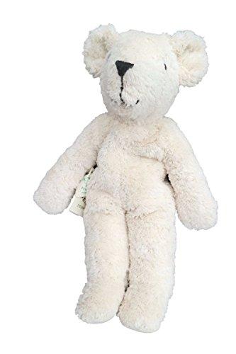Senger Stuffed Animals - Teddy Bear - Handmade 100% Organic Toy - 12 Inches Tall - White from Senger