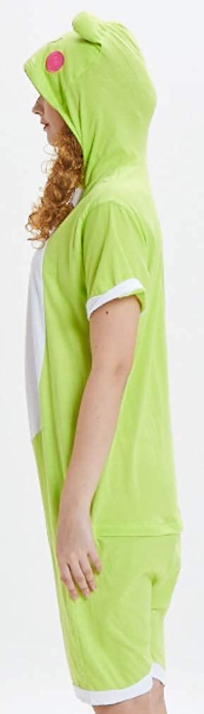 Silver Basic Camicia da Notte Donna Maniche Corte Pigiama Cotone Donna Estivo con Bottoni Monopezzi e Tutine Jumpsuit