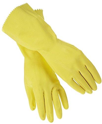 Gummihandschuhe gelb Gr. XL; 6 Paar