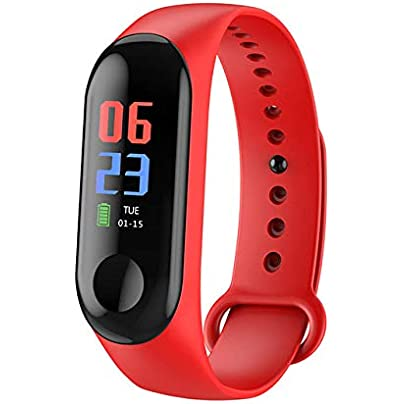 wojiaxiaopu band Outdoor Sports Smart Wristband Fitness Bracelet Heart Rate Blood Pressure Monitoring Wristbands Tracker band Estimated Price £22.50 -