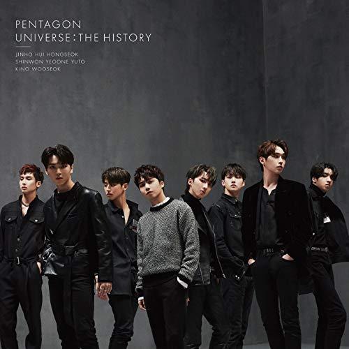 PENTAGON - UNIVERSE : THE HISTORY(첫 한정반A)(DVD부)