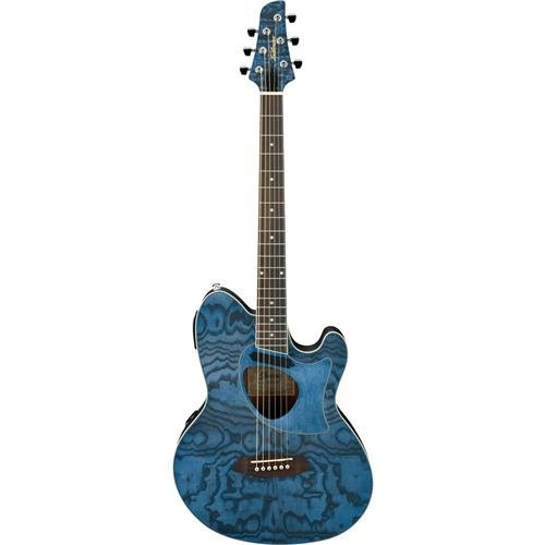 Ibanez Talman Series TCM50DNO Acoustic-Electric Guitar Dark Night - Guitar Ibanez Electric Acoustic