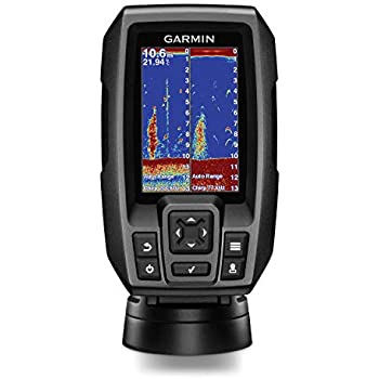 "Garmin Striker 4 with Transducer, 3.5"" GPS Fishfinder with CHIRP Traditional Transducer"