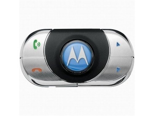 Motorola TK30 Music and Bluetooth STEREO Hands-free Professional Install Car Kit Speakerphone for iPod, iPhone, Android, Samsung Galaxy S Phones