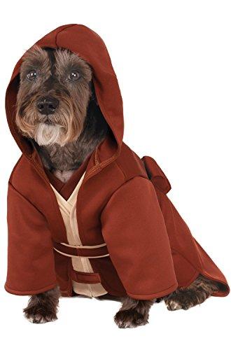 [Rubies Costume Company Star Wars Classic Jedi Robe Pet Costume, Medium] (Hot Dog Baby Costumes)
