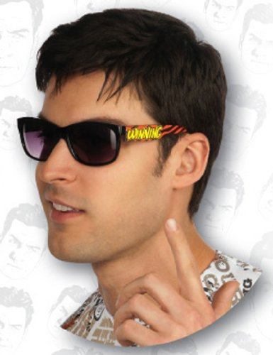 Charlie Sheen Winning Glasses, Multicolored, One Size]()