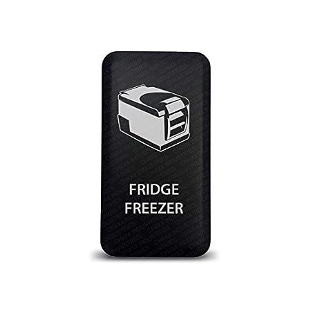 CH4X4 Push Switch for Toyota Fridge Freezer Symbol 2 Blue LED