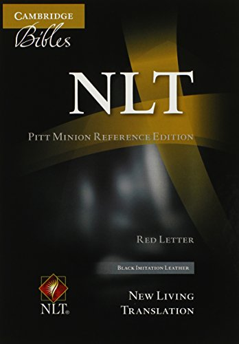 NLT Pitt Minion Reference Bible, Red Letter, Black Imitation Leather NL442:XR (Cambridge Bibles)]()