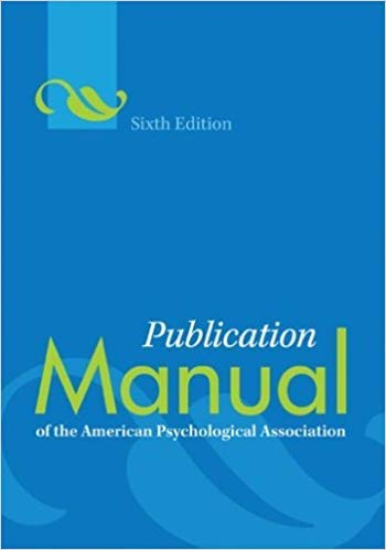 Mua tốt nhất [9781433805622] [1433805626] Publication Manual of the American Psychological Association 6th Edition SPIRAL