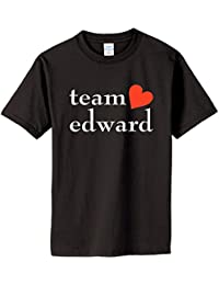 TEAM EDWARD on Adult & Youth Cotton T-Shirt (in 26 colors)