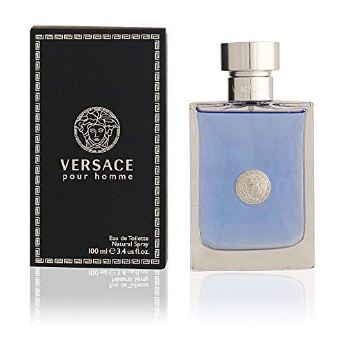 (New Item VERSACE VERSACE SIGNATURE HOMME EDT SPRAY 3.3 OZ VERSACE SIGNATURE HOMME/VERSACE EDT SPRAY (BLUE/SILVER) 3.3 OZ (M) DARK BLUE BOX W/SILVER SEAL)