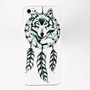 Bkjhkjy Luck Feather Fox Pattern Polycarbonate Hard Case for iPhone 4/4S , Multicolor
