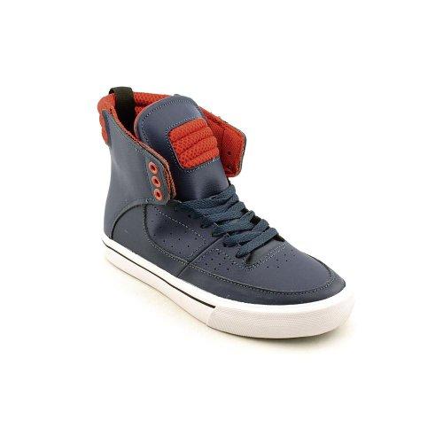 Supra Mens Kondor Navy/Red Sneaker Mens 10.5, Womens 12 D (M)