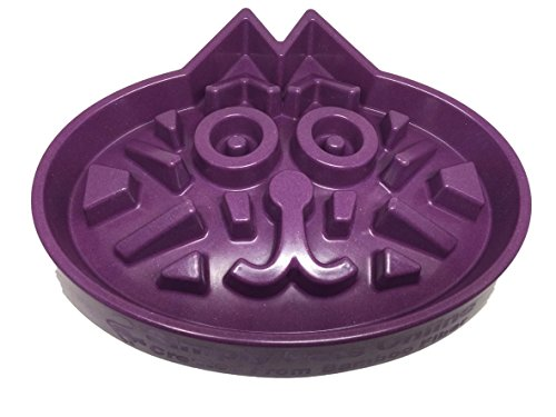 Simply Pets Online Slow Feed Cat Bowl - Slow Down Eating Designed by Veterinarians, Eco-Friendly Durable Non Toxic Bamboo Fiber, Purple