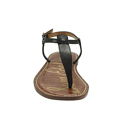Women Sam T Gigi Black Bar Edelman Sandals BB7EgqOw
