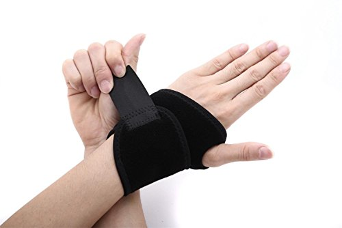 poomoon Wrist Brace, Wrist Left, Black, Right Fitted Wrist Brace, Support for Hands and Joints