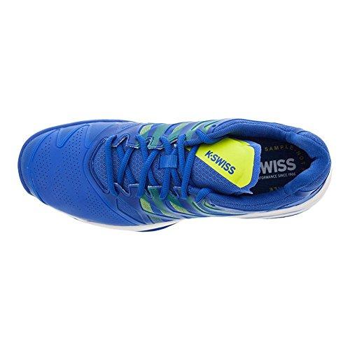 K-swiss Mens Ultrashot Tennisschoen Sterke Blauwe / Neon Citron