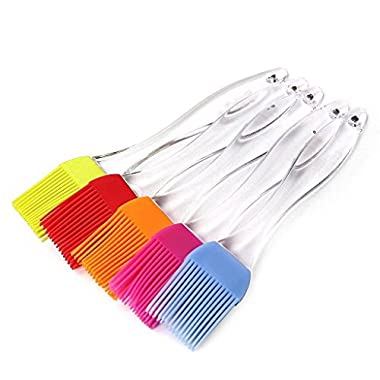 Pastry brush,Dreamwit® 5PCS Silicone Basting Brushes,BBQ Brushes Durable,Attractive,Heat Resistant Kitchen Utensils