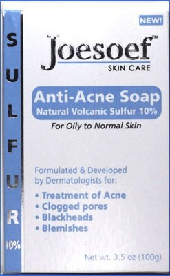 Sulfur Soap - Medical Grade OTC Dermatologists Approved 40 yrs for Acne