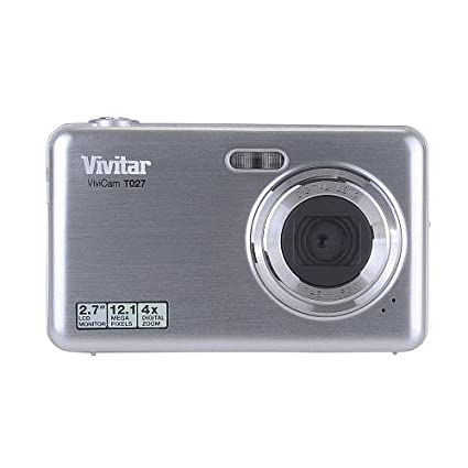 amazon com vivitar vivicam t027 12 1 megapixel compact camera rh amazon com vivitar vivicam t027 instruction manual Vivitar ViviCam 5024