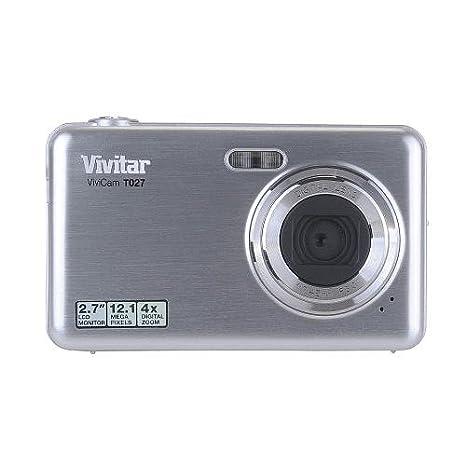 amazon com vivitar vivicam t027 12 1 megapixel compact camera rh amazon com