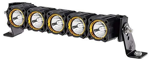 KC HiLites 281 KC Flex LED Light Bar Combo System; Front Bumper Mount; Combo Spot/Spread Beam; Kit Incl. 10 in. FLEX Array LED Light Bar; w/Wiring Harness/Switch; Mounting Brackets;