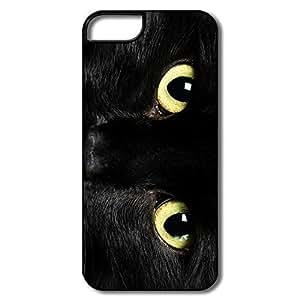 Design Protective Hard Plastic Shockproof Cat Iphone 5 Cases