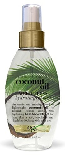 Ogx Coconut Oil Weightless Hydrating Oil Mist 4 Ounce