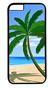 Beach PC Black Case for Masterpiece Limited Design iphone 6 by Cases & Mousepads