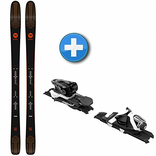 NEW 2018 Men's Rossignol Sky 7 HD Skis + Look NX 12 Konect DUAL WTR Bindings (180) (Tip Dual Skies)