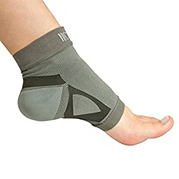 Brownmed Nice Stretch Plantar Fasciitis Sleeve, Sock Bamboo Charcoal Fiber material, anti-bacterial and deodorizing, may help improve circulation for pain relief, Large/X-Large, Single