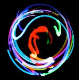 7 Color Led Rings - GloFX Premier 2-LED Orbit: 7-Color Fantasy