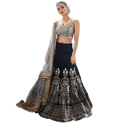 lehenga choli for party wear wedding bollywood lengha sari trendy culture 0082
