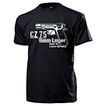 ALFASHIRT CZ 75 9mm Luger pistol weapon Sniper Czech handgun automatic Military Gun