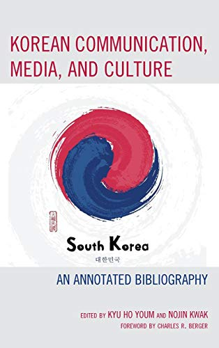 Book cover from Korean Communication, Media, and Culture: An Annotated Bibliography by Min Jin Lee