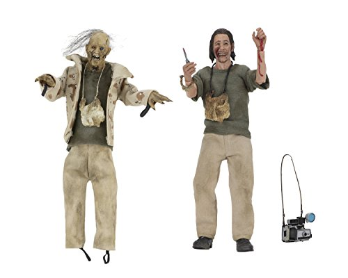"NECA 8"" Clothed Action Figures – Nubbins Sawyer Collector's Set Texas Chainsaw Massacre"